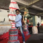 Quirky picture of Riteish Deshmukh at IIFA awards