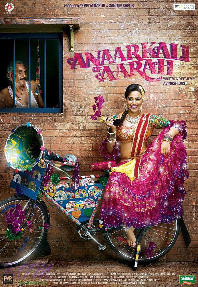 Quirky poster of Anaarkali Of Aarah Movie