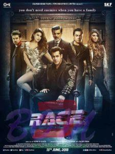 Salman, Bobby and Jacqueline starrer Race 3 release date is 15th June 2018.