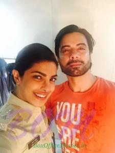 Rahul Bhat with Priyanka Chopra for Gangaajal2