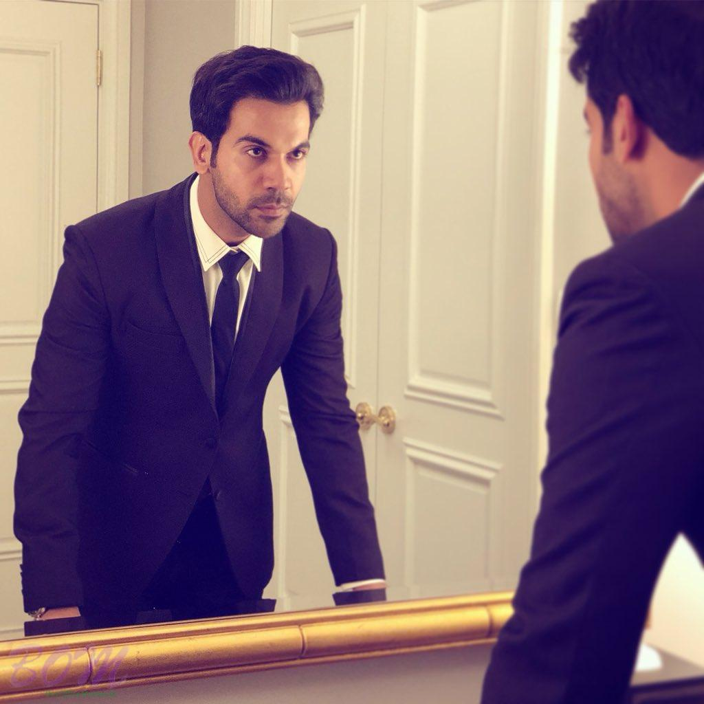 Rajkummar Rao competition with the man in the mirror