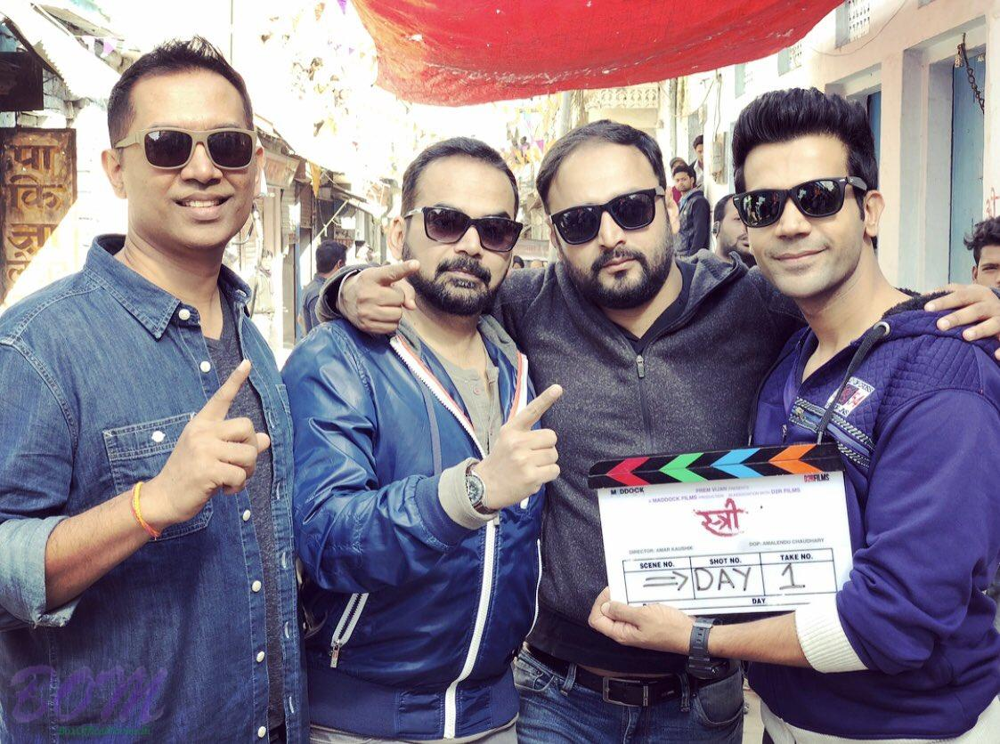 Rajkummar Rao starrer STREE movie shooting begins