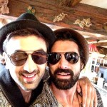 Ranbir Kapoor selfie on the sets of Ae Dil Hai Mushkil in Paris
