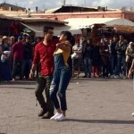 Ranbir Kapoor and Katrina Kaif during the Jagga Jasoos song shoot in Morocco 3