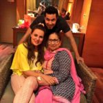 Randeep Hooda with his sister real Anjali Hooda and Sarbjit sister Dalbir Kaur ji