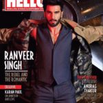 Ranveer Singh Cover Boy Sep 2016 for Hello Magazine
