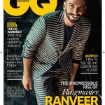 Ranveer Singh cover boy of GQ India January 2016 issue cover page
