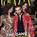 Ranveer Singh enjoy as cover boy for Grazia Dec 2015 issue