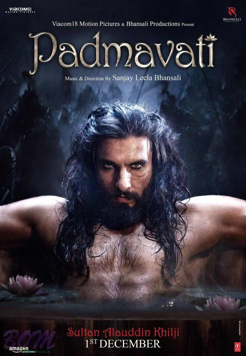 Ranveer Singh hard and hot look as Sultan Alauddin Khilji for Padmavati.