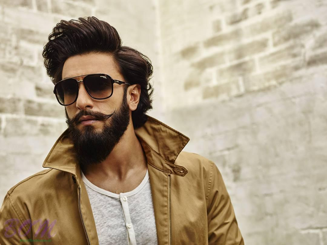 Ranveer Singh Popping Colar Style Pics Bollywood Actor Movie