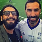 Ranveer Singh selfie with Robert Pires