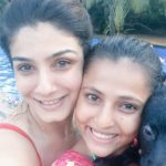 Raveena Tandon with her Chaya Baby