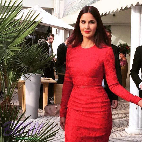 Red Hot Katrina at Cannes Film Festival 2015