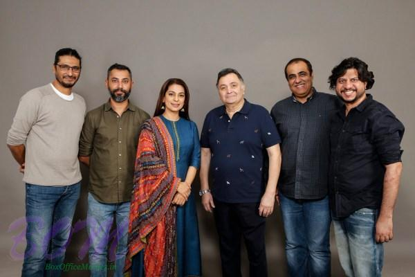 Rishi Kapoor and Juhi Chawla to star together in a family comedy directed by debutant Hitesh Bhatia