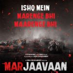 Riteish Deshmukh, Sidharth Malhotra and Tara Sutaria starrer Marjaavaan movie teaser poster