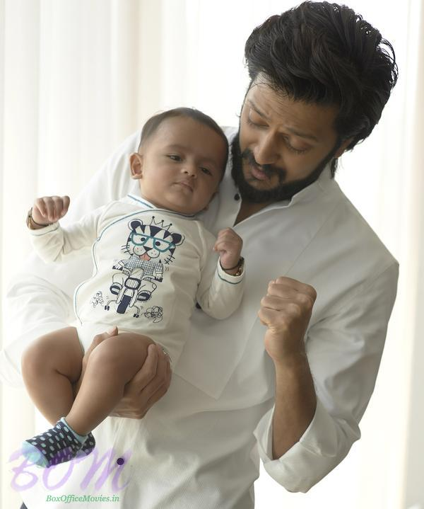 Riteish Deshmukh son Riaan turns 6 months old On his Father's 70th Birth Anniversary