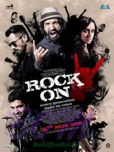Rock On 2 first movie poster out on 2Sep16