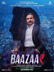 Rohan Mehra with Saif Ali Khan starrer Baazaar movie poster