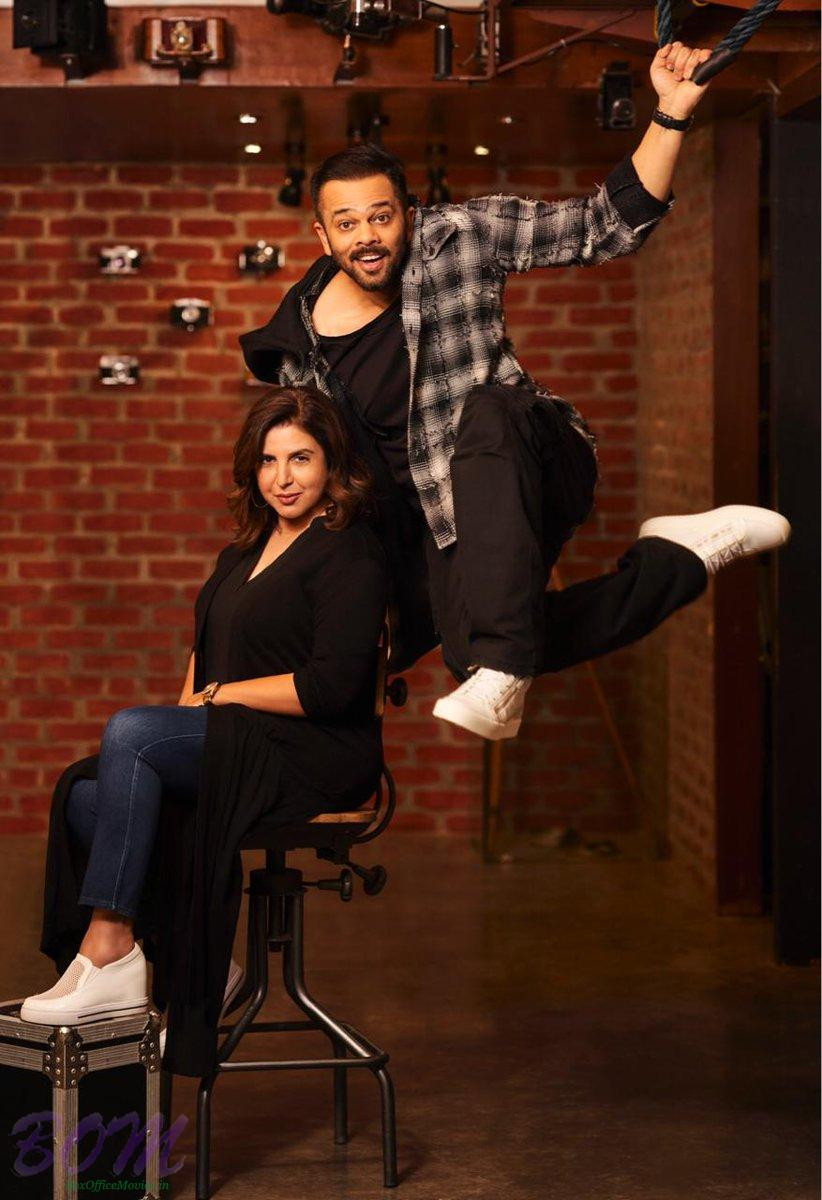 Rohit Shetty to do an action-comedy film with Farah Khan
