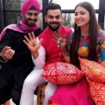 SONU BAGRECHA with Virat and Anushka