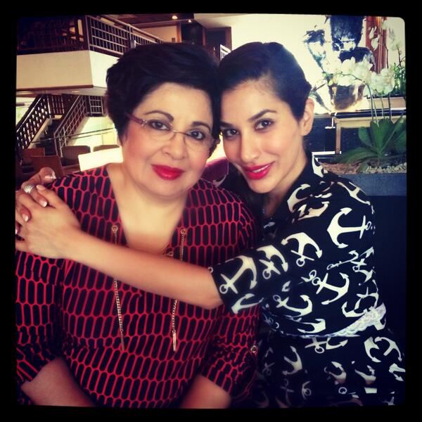 SOPHIE CHOUDRY with her great monther