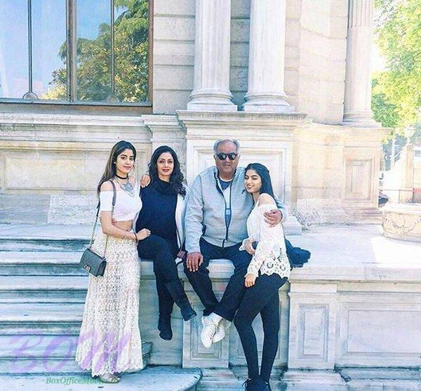 SRIDEVI BONEY KAPOOR ‏and family
