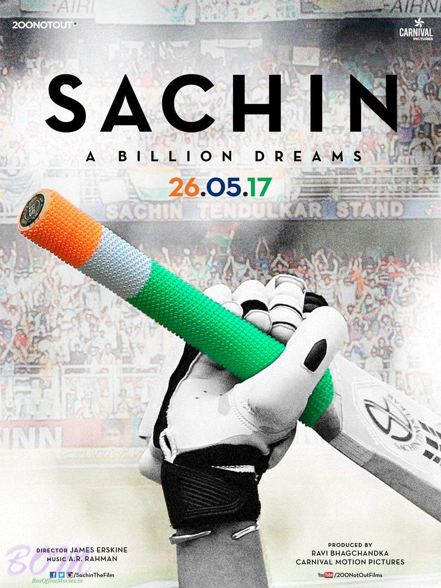 Poster of Sachin A Billion Dreams movie starring Sachin Tendulkar
