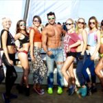 Sahil Khan at India's First Beach Gym