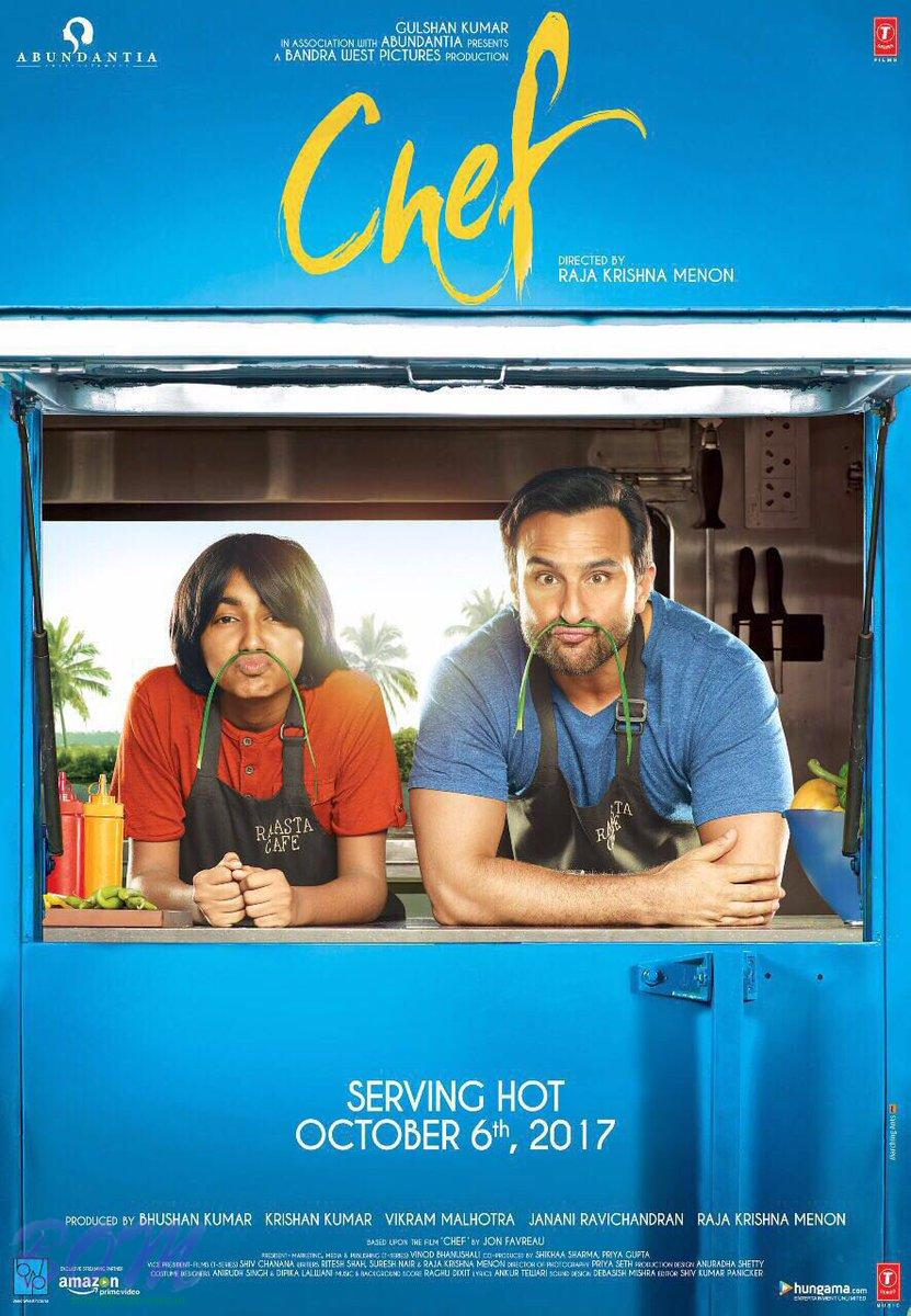 Saif Ali Khan starrer CHEF movie poster