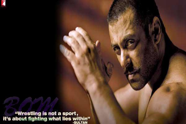 Salman Khan Sultan movie First Look picture