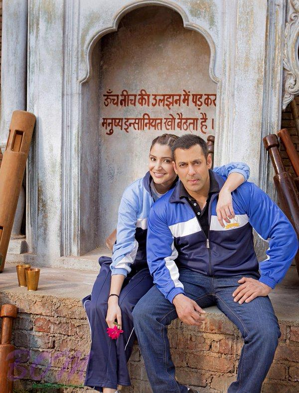 Salman Khan and Anushka Sharma celebrate Valentines Day 2016 in Sultan style