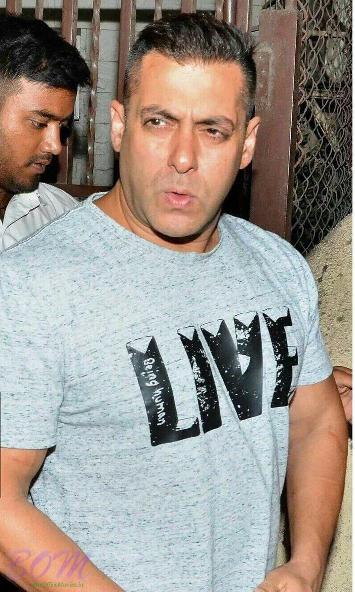 Salman Khan Looking Handosme In The New Hairstyle On June