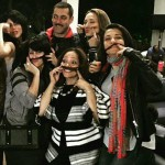 Salman Khan quirky picture with Iulia Vantur and others