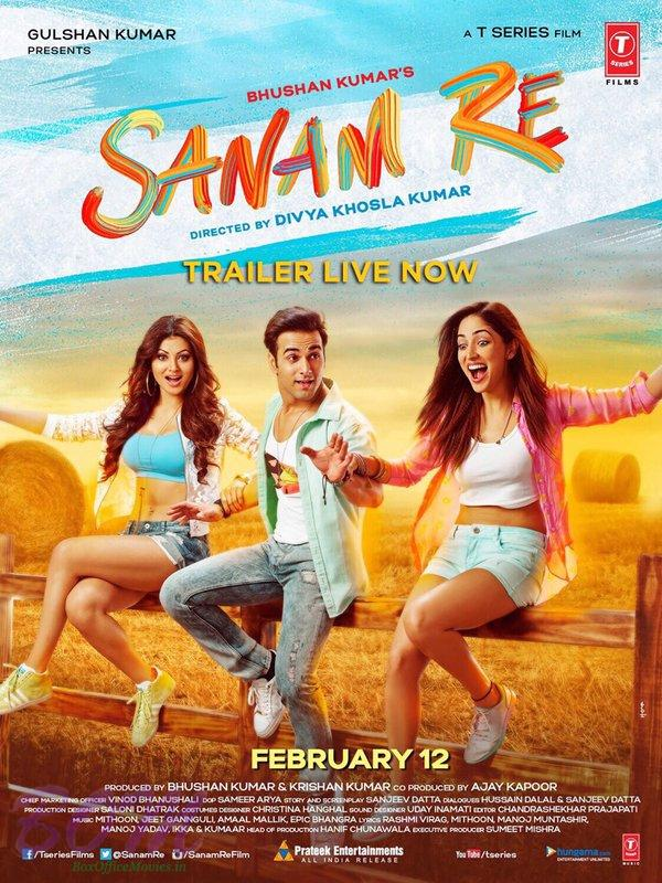 Sanam Re 2016 Hindi DvDRip x264 AC3 5.1 – Hon3y ~ 1.45 GB