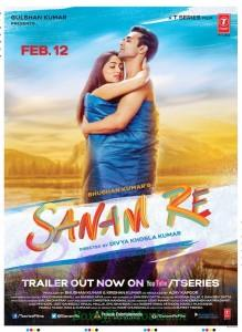 Sanam Re romantic poster of Yami Gautam with Pulkit Samrat