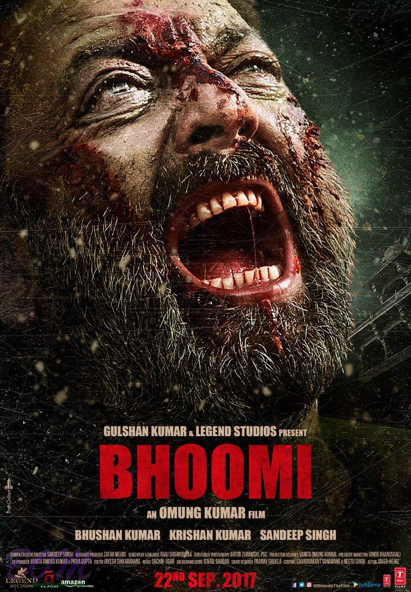 Sanjay Dutt crying in this new poster of Bhoomi