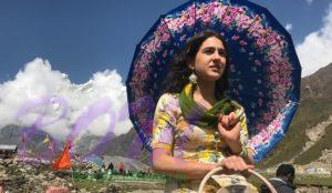 Sarah Ali Khan in first look picture in Kedarnath