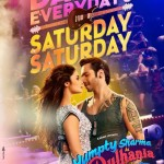 Saturday night poster of Humpty Sharma Ki Dulhania