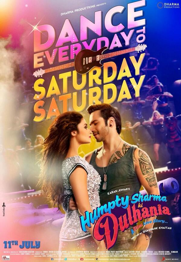 Saturday Saturday full song - Humpty Sharma Ki Dulhania movie