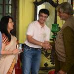 Saurav Ganguly on the sets of Piku to meet Amitabh Bachchan Ji