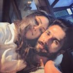 Shahid Kapoor first selfie with wife Mira Rajput after first baby