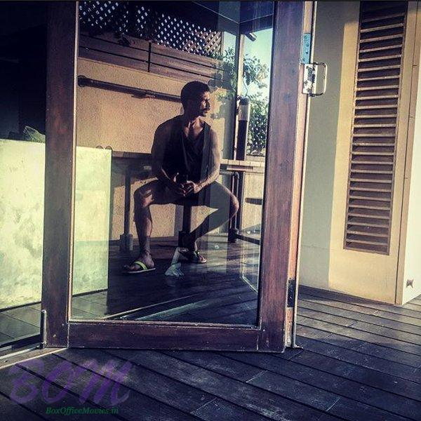 Shahid Kapoor latest rough and tough picture
