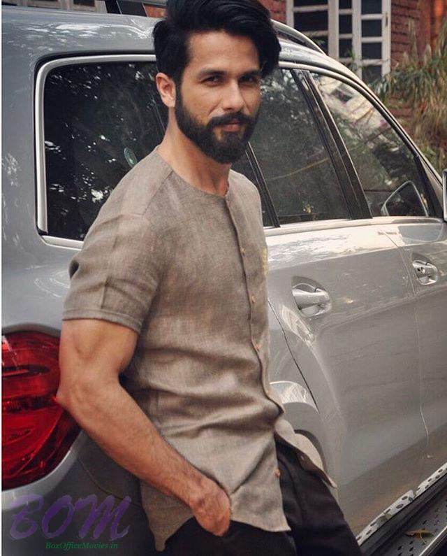 Shahid Kapoor new dashing look