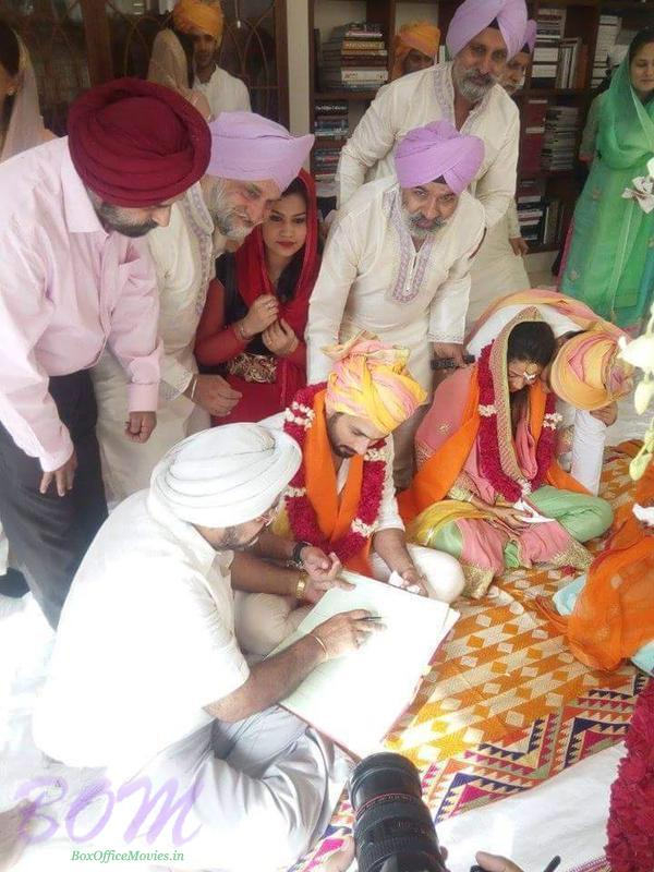 Shahid Kapoor punjabi wedding picture