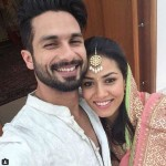 Shahid Kapoor selfie with Mira Rajput just on the wedding day