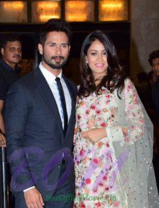 Shahid Kapoor with Mira Rajput on first wedding Anniversary
