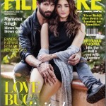 Shahid and Alia on Filmfare cover page for Nov 2015