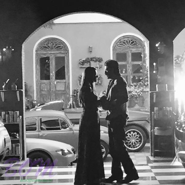Shahrukh Khan and Kajol romantic scene out from Dilwale