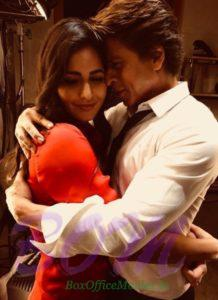 Shahrukh Khan and Katrina Kaif romantic pic from ZERO