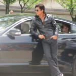 Shahrukh Khan dashing look from Dilwale shooting in Bulgaria